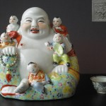 "Buddha Figure ""five boy's"""