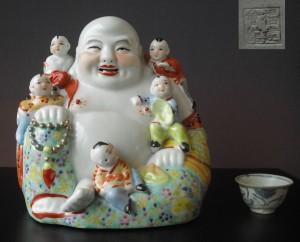 "Buddha Figure ""five boy's"""