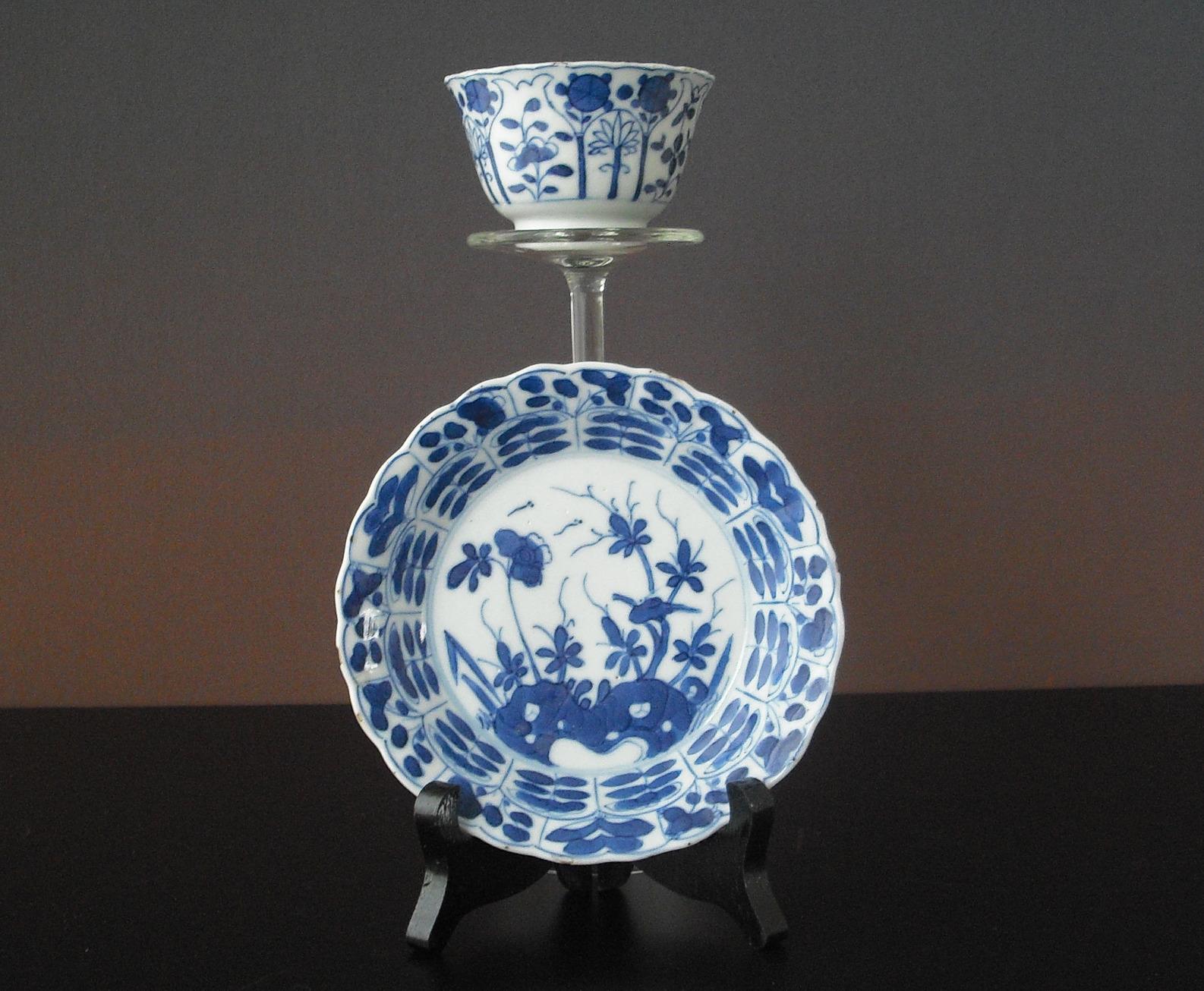 Kangxi Cup and Saucer