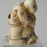 "Netsuke ""2 friends"""