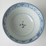 18th/19th C. Lotus Scroll Bowl