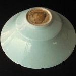 "19th/20th C. Celadon Bowl - ""Twin Fish"""