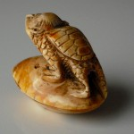 "Netsuke ""Kappa on a Clam"""