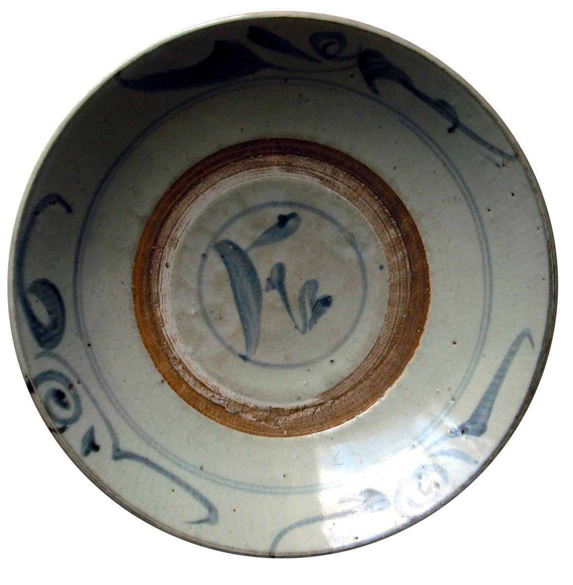 Ming Plate – Stylized Painting