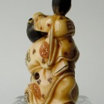 "Netsuke ""father and son"""