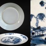 Daoguang Plate - landscape motif