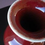 Guangxu Vase - Monochrome Flambe
