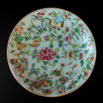 19th C. Fencai Plate - Famille Rose