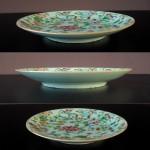 19th C. Fencai Plate - Famille Rose
