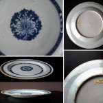 Qianlong Export Plate - lotus bloom