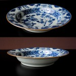 "Qianlong Dish – ""Pudding Plate"", No.1"