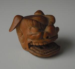 Netsuke - ShiShi beast head