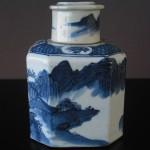 Jiaqing Tea Caddy – octagonal