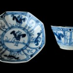 Kangxi Cup and Saucer - Boy