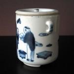19th C. Tea Caddy – People