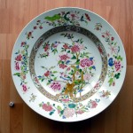 Large Famille Rose Plate