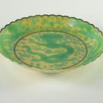Guangxu Dragon Dish – Scallop Rim