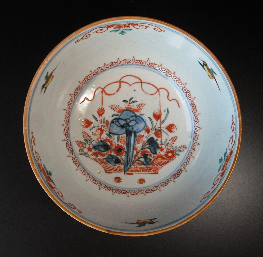 "Kangxi Bowl ""Amsterdam Bont"" - Birds"