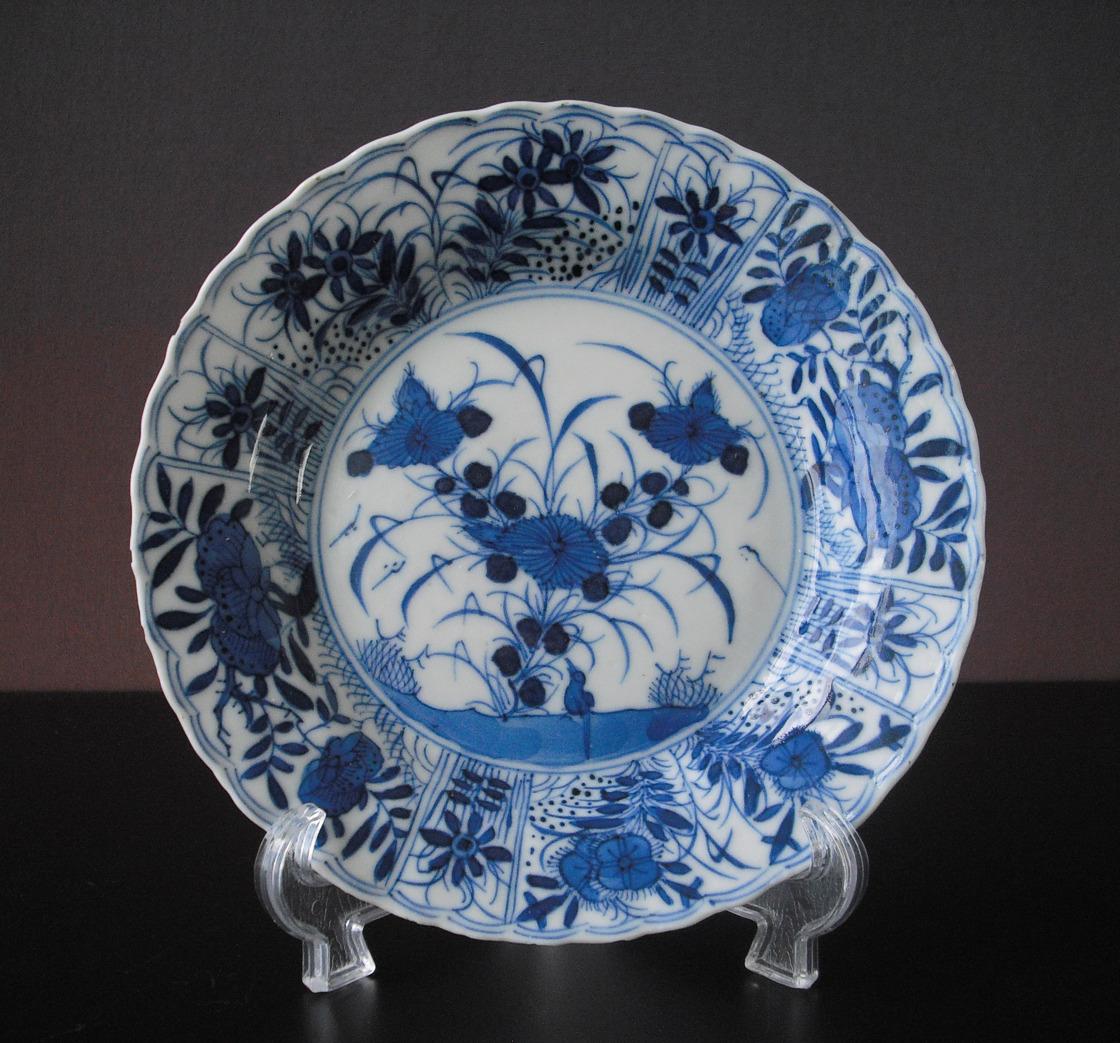 Kangxi Saucer – Bird & Flowers