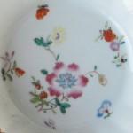 Yongzheng Saucer - Flowers