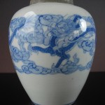 19th C. Vase – Dragons