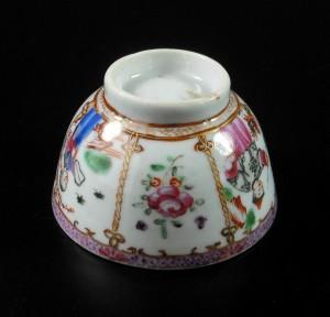 Qianlong Cup and Saucer – Mandarin