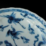 Kangxi Dish – Birds & Flower