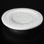18th C Seal Paste Plate – Blanc de Chine