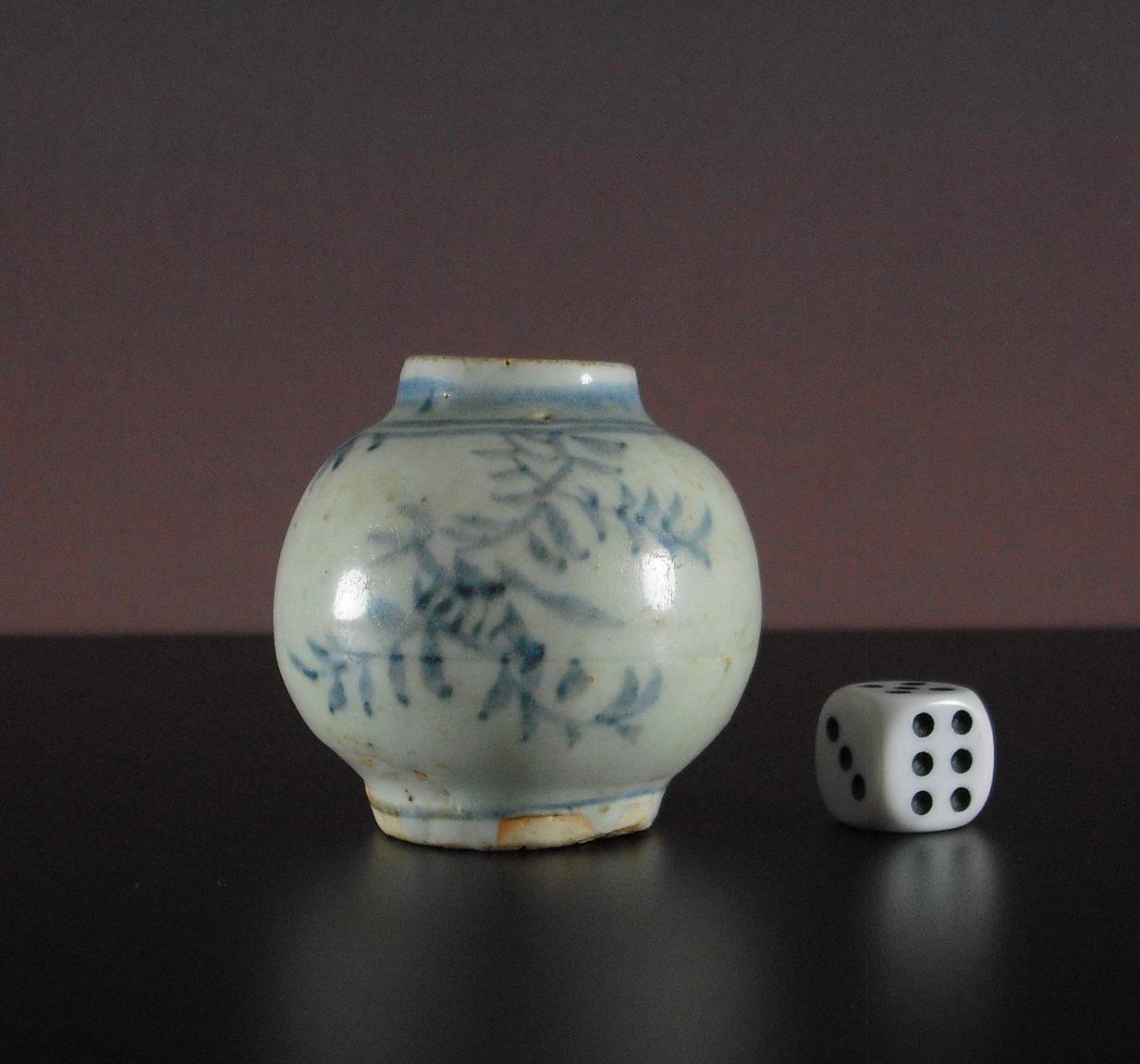 Hongzhi Ming Jar – Floral