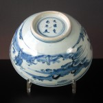 Large Ming Tianqi Bowl - People