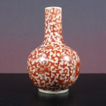19th C. Vase – Lotus Scroll