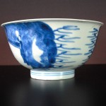 17th C. Shunzhi Bowl – People