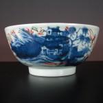 """18th C. Bowl """"Amsterdam Bont"""" – Landscape"""