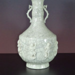 Craquele Vase – Eight Immortals