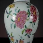 Yongzheng Fencai Vase – Rock Garden