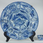 Large Wanli Plate – Lotus