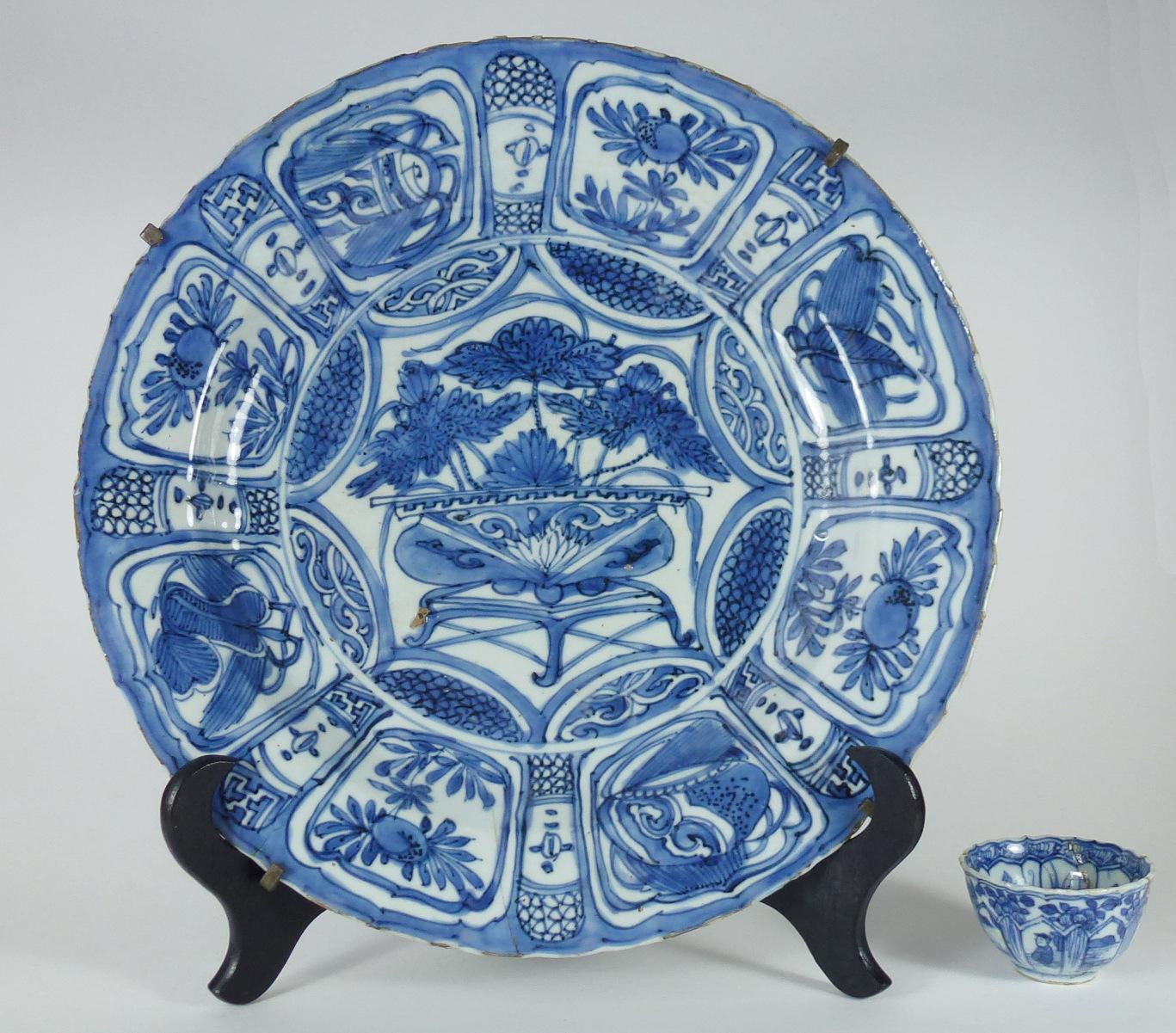 Large Wanli Plate – Lotus