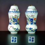 Pair Jiaqing Vases & Cover – Imperial