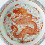 19th C. Brush Washer – Dragon