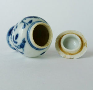 Chinese Imperial Qianlong Snuff Bottle / Snuff-Jar