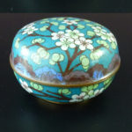 19th C. Cloisonne Box – Blossoms