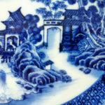 Fine Yongzheng Plate – Water Landscape