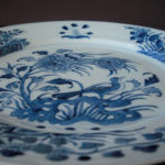 18th C Chenghua Marked Plate – Bird