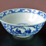 19th C. Large Bowl – Broken Ice