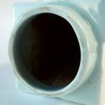 Celadon CONG Vase - Relief
