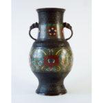 19th C. Bronze Vase – Archaic Style