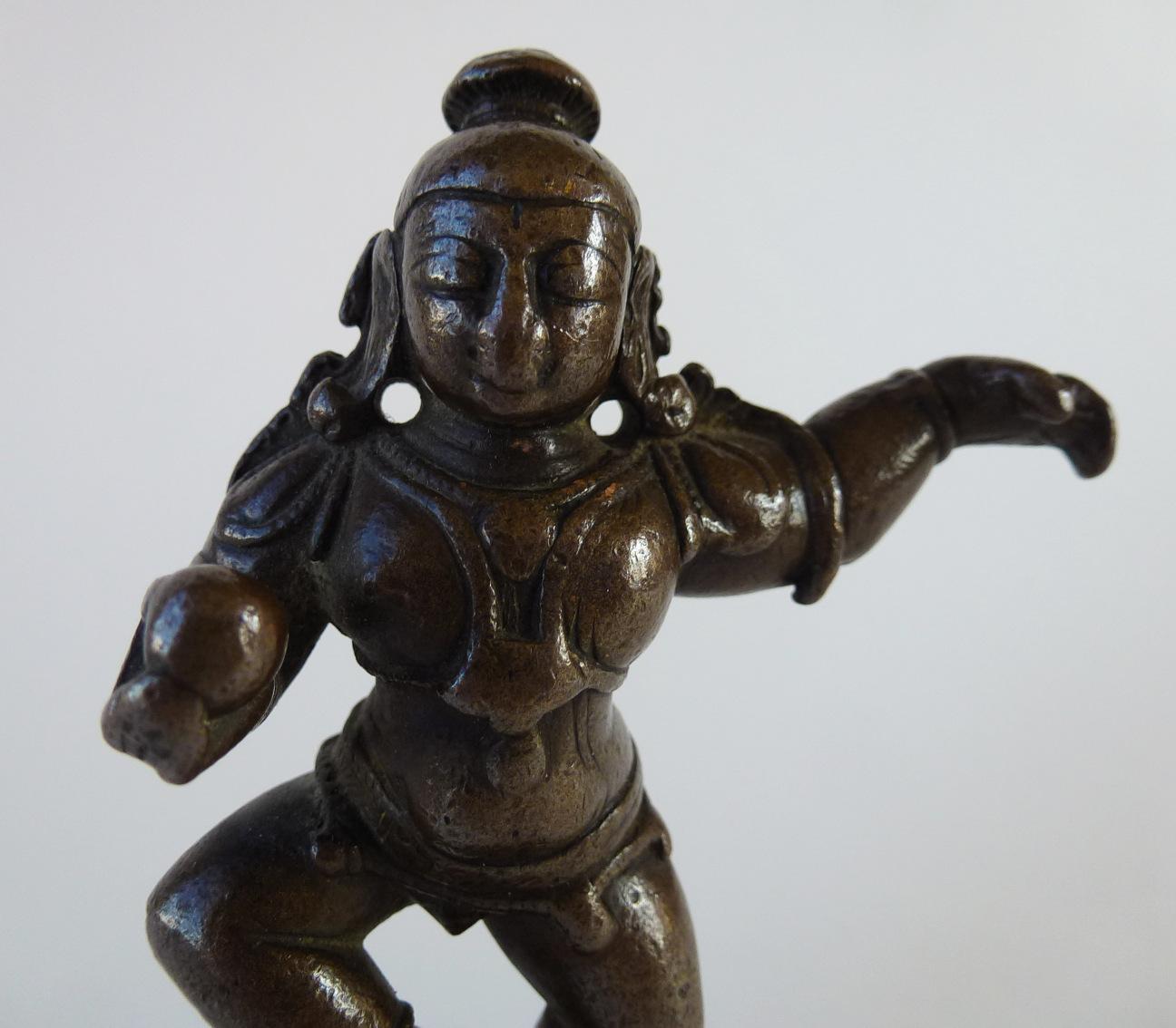 18th C. Bronze Krishna – Dancing Child