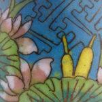 Jiaqing Cloisonne Cup – Lotus