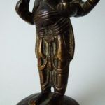19th C. Bronze - Standing Ganesha