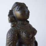 19th C. Bronze – Standing Parvati